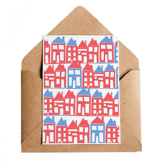 LOTTIE HALL Houses Card