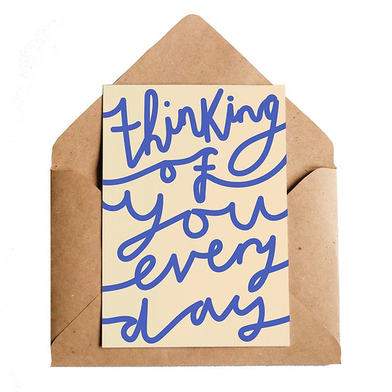 LOTTIE HALL Thinking Of You Card