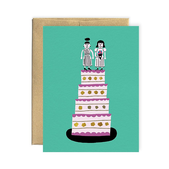 PAPEROLE Wedding Ladies Card