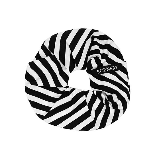 SCENERY LABEL Scrunchie Stripes
