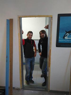 Axel Mathy et William Bodson, propriétaires et gestionnaires du centre médical de Chaumont Gistoux