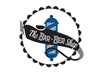 the bar ber shop logo