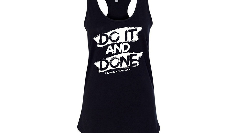 Women's Do it and Done Racer Back tank top