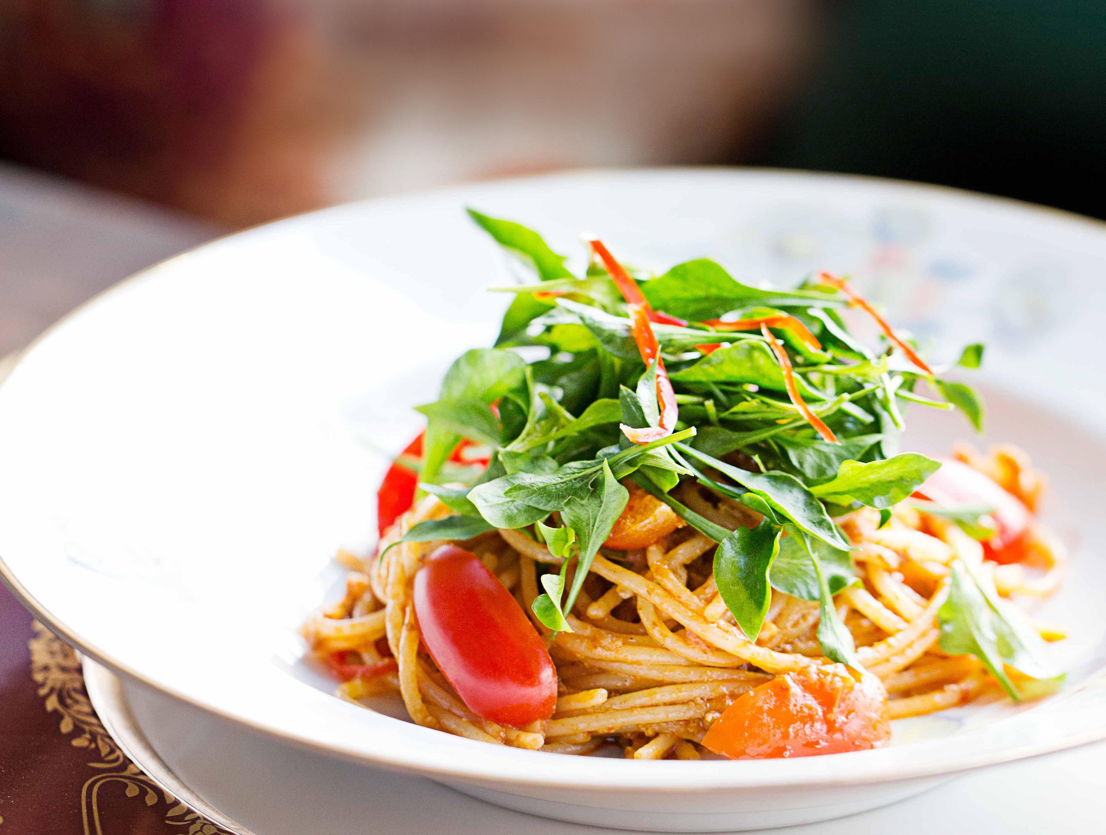 Chili Pork Spaghetti