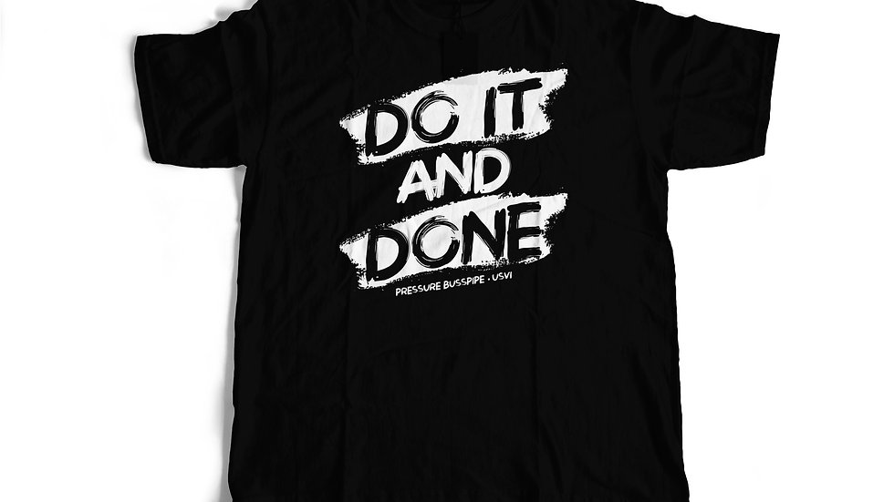 Do It And Done -Black