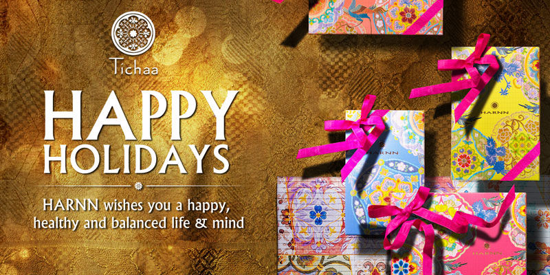 Tichaa wishes you a happy, healthy and balanced life & mind
