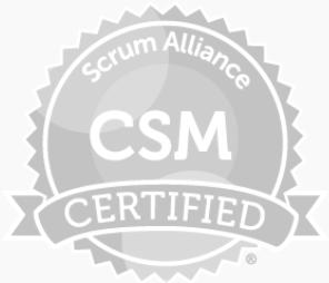 Certified ScrumMaster (CRM)