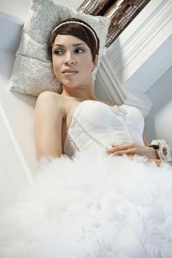 Model-Melissa-Roshan-Wedding-Gown