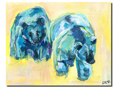 Honey Bears 8x10 PRINT