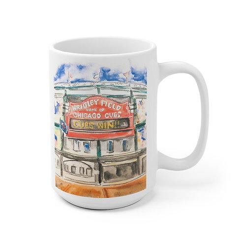 Wrigley Field Mug