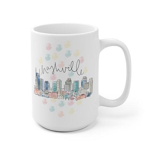 Nashville Skyline Mug