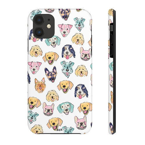 Colorful Dogs Phone Case