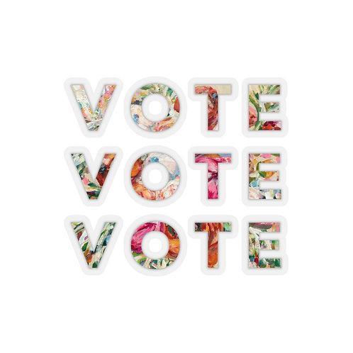 VOTE (Blooming) Sticker