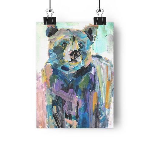 Sun Bear Fine Art Print