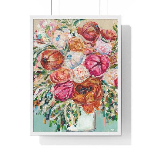 Blooming Fine Art Print (Framed)
