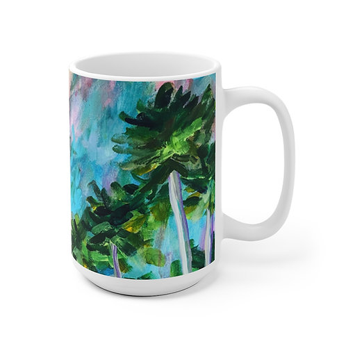 Field of Palms Mug