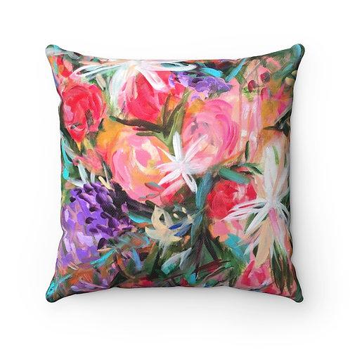 Flora Flora Square Pillow