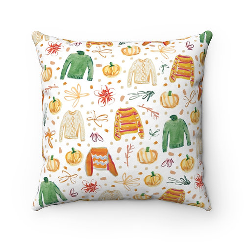 All For Fall Square Pillow