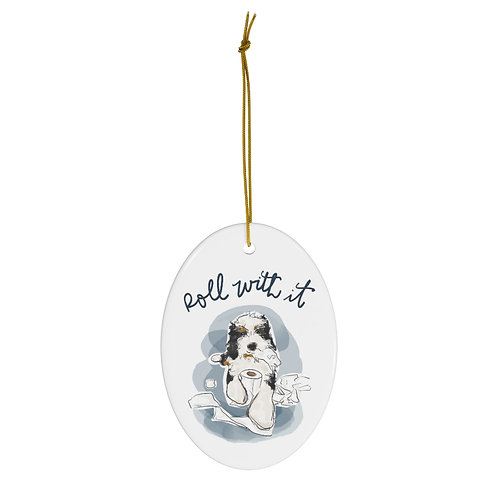Roll With It 2020 Ornament