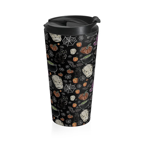 Spooky Season Stainless Steel Travel Mug