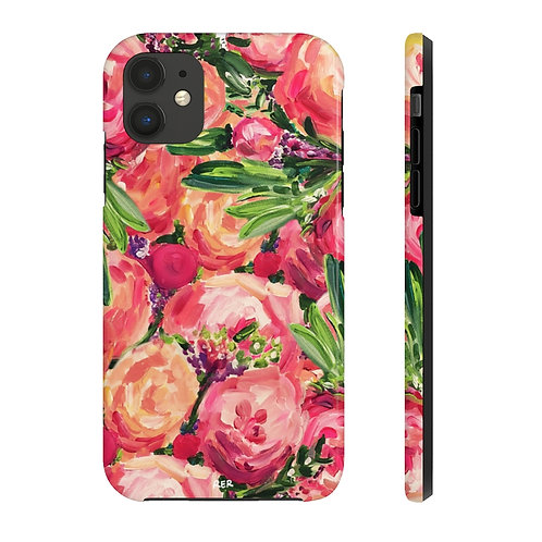 Pretty Peonies Phone Case