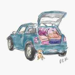 Leo and Dory Illustration