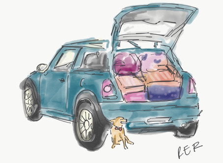 5 Tips On Downsizing (How I Fit My Life in a Mini-Cooper)