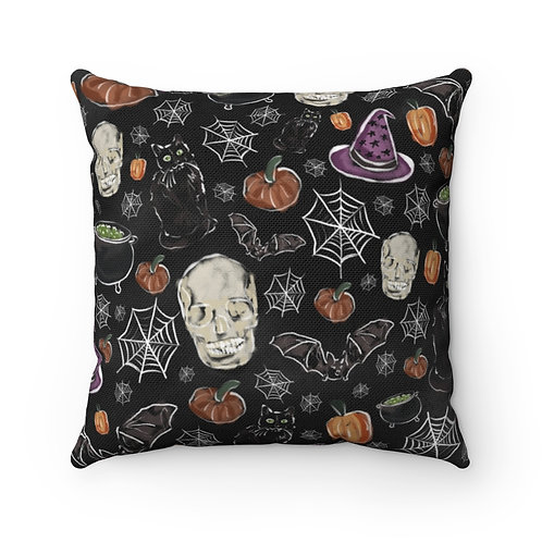 Spooky Season Square Pillow