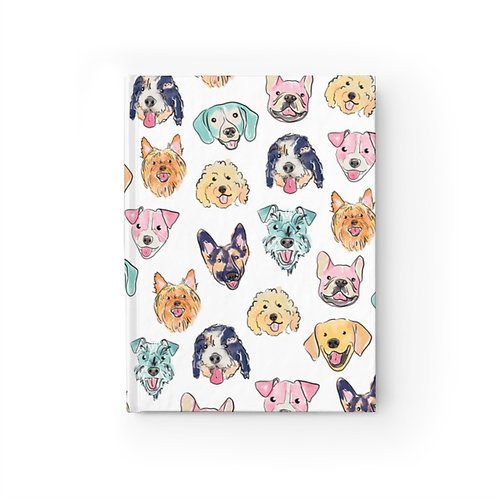 Colorful Dogs Journal