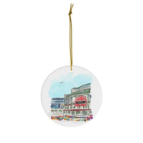Wrigley Field Pride Ornament