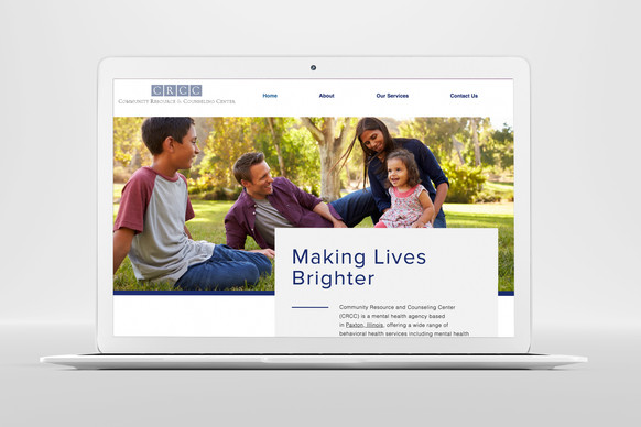 Website for Community Resource and Counseling Center