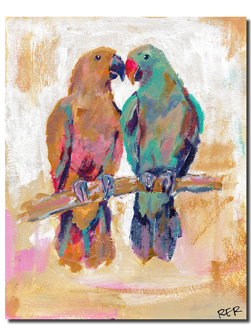 Birds Of A Feather 8x10 PRINT