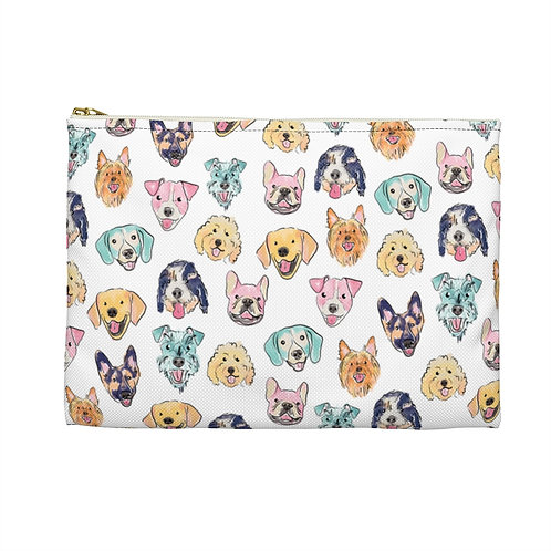 Colorful Dogs Carry-All Pouch