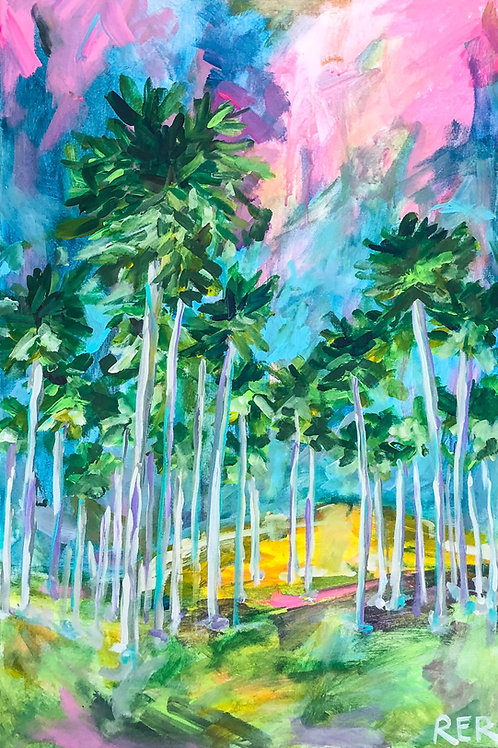 Field of Palms