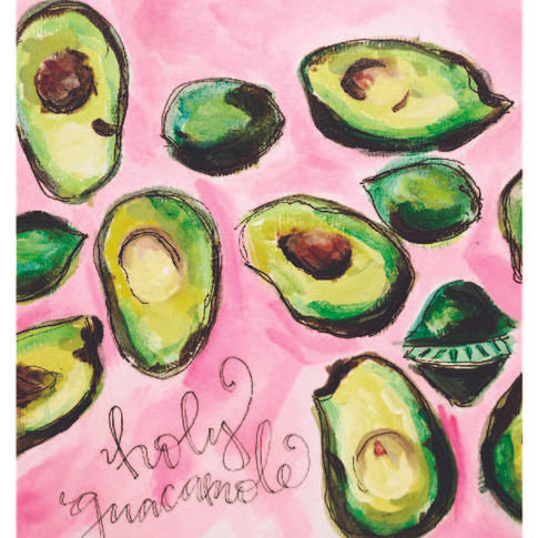 Holy Guacamole Painting