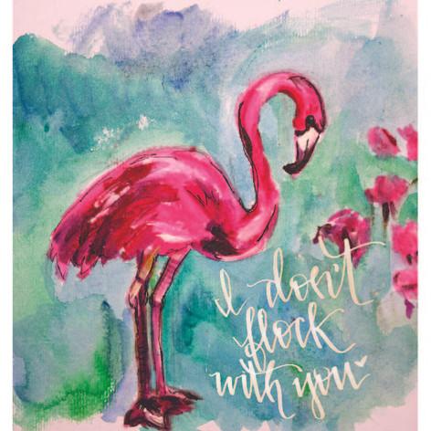 Flocking Flamingo
