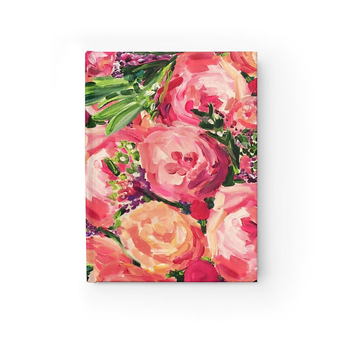Pretty Peonies Journal