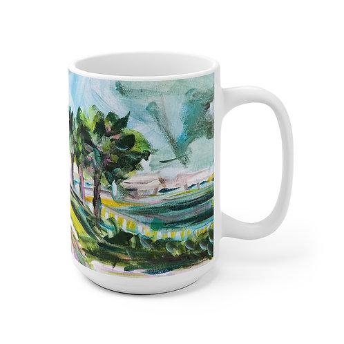 Pineapple Fountain Mug