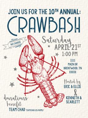 Crawbash Invitation