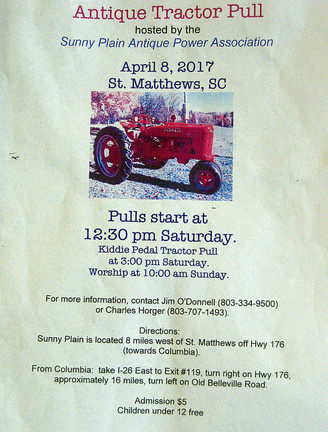 Antique Tractor Pull Hosted by the Sunny Plain Antique Power Association
