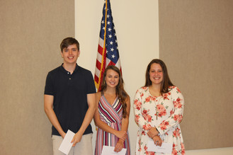 Sandy Run Ruritans and Local Businesses Give Scholarships to Area Students
