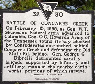 Battle at Congaree Creek:  Civil War Reenactment                May 5-7, 2017