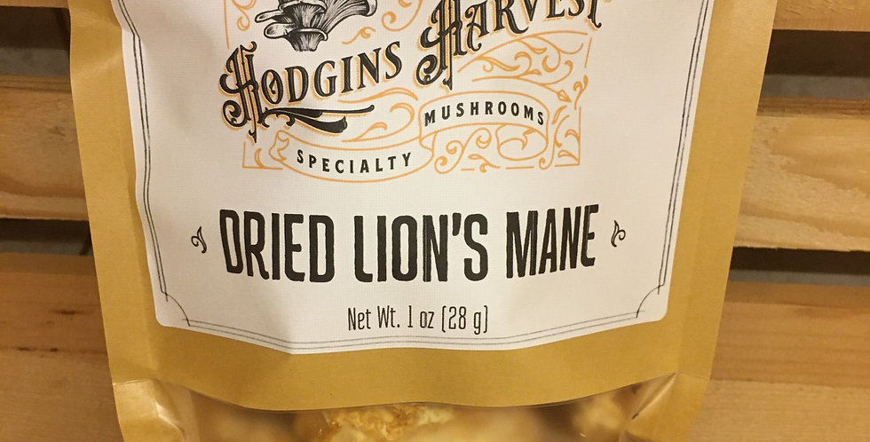 Dried Lion's Mane