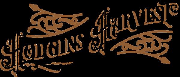 Hodgins Harvest Logo with flourishes 02.