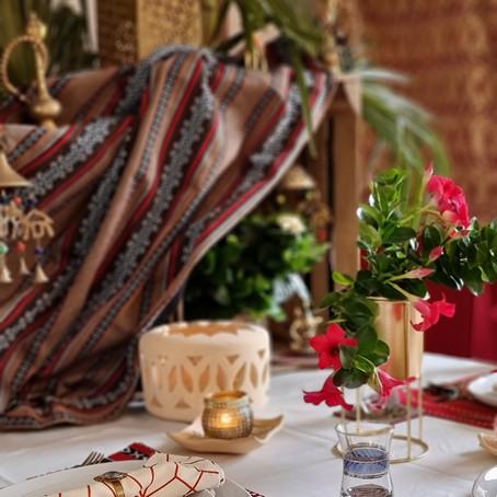 Notre table de l'aïd Al-Fitr