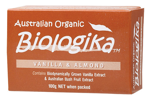 BIOLOGIKA Soap Vanilla & Almond 100g