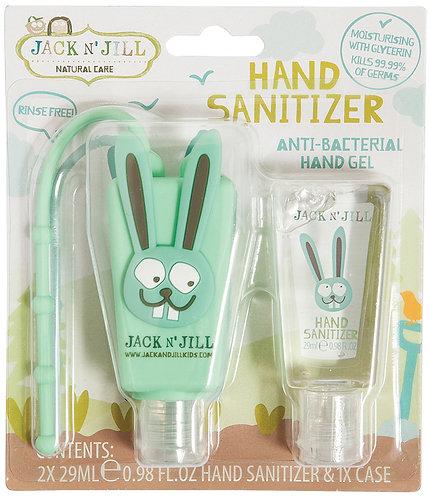 JACK N' JILL Hand Sanitizer & Holder Bunny - 29ml