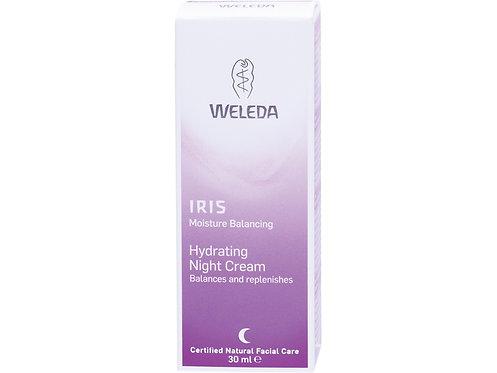 WELEDA Hydrating Night Cream Iris - 30ml