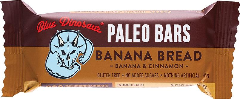 BLUE DINOSAUR Paleo Bars Banana Bread - 1x45g