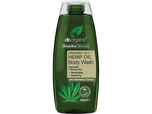 DR ORGANIC Body Wash Organic Hemp Oil - 250ml